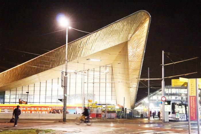 rotterdam-main-station-aluminium-foil-tray-
