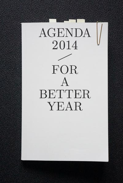 Agenda-for-a-better-year-2014